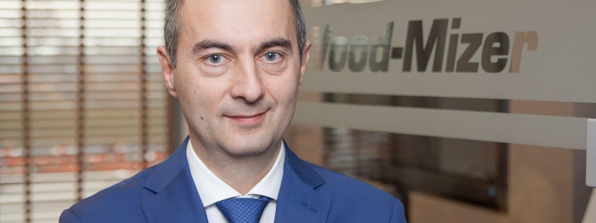 Pan Krzysztof Kropidłowski, Dyrektor Handlowy w firmie Wood-Mizer Industries Polska