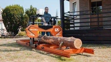 Trak taśmowy Wood-Mizer LX50