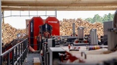 TITAN SAWMILL LINE SIGNIFICANTLY IMPROVES PALLET PRODUCER PRODUCTIVITY