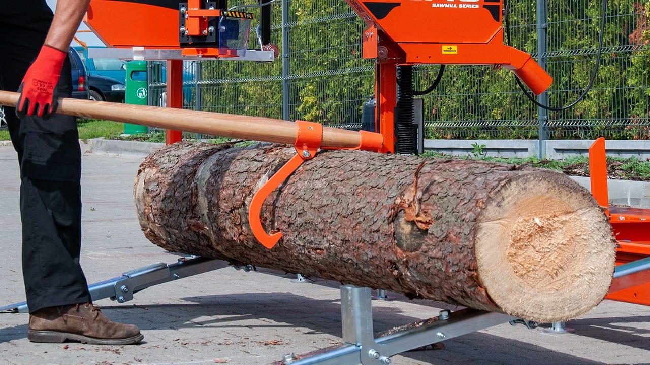 Log Turner