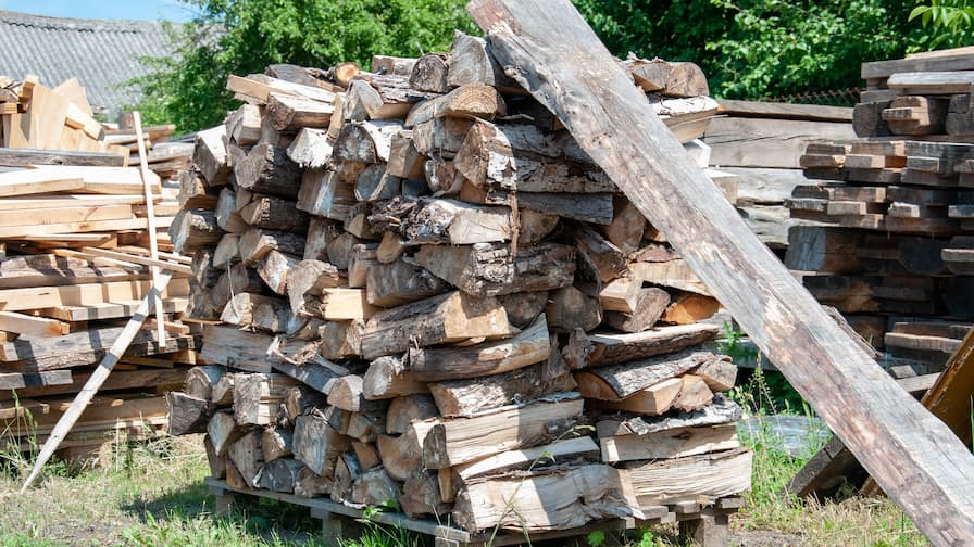 OLD Mountains wood salvaged from fruit orchards
