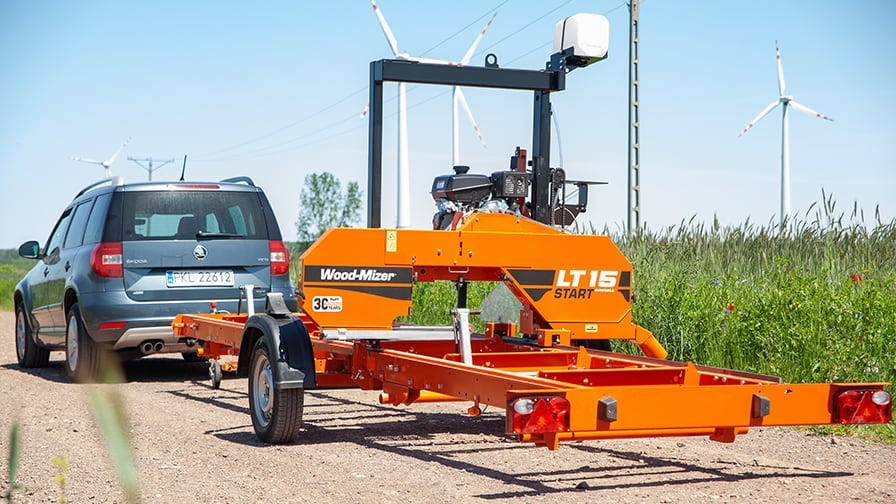 Wood-Mizer LT15Mobile gotowy do jazdy
