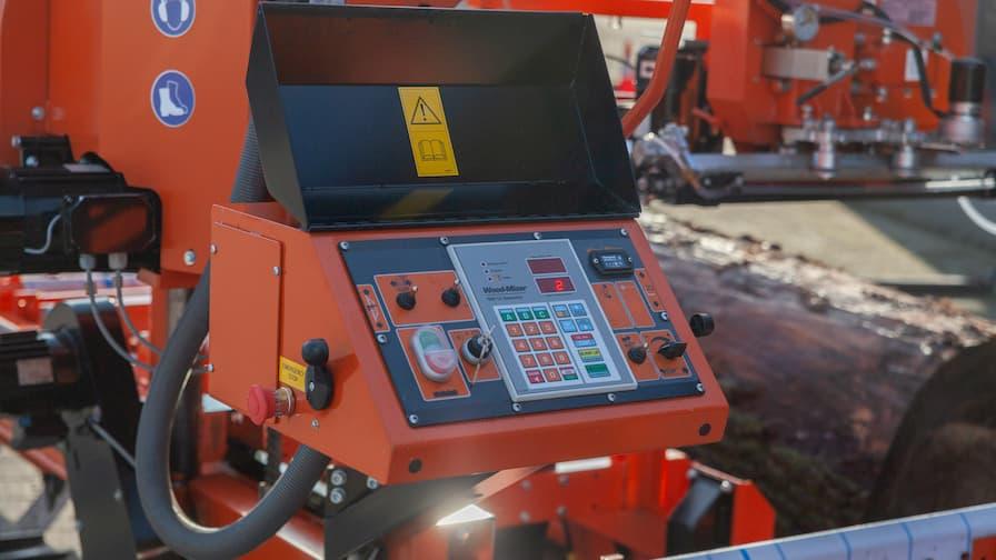 LT40WIDE - panel sterujący z setworkiem SW10 Setworks do automatycznego ustawiania grubości cięcia