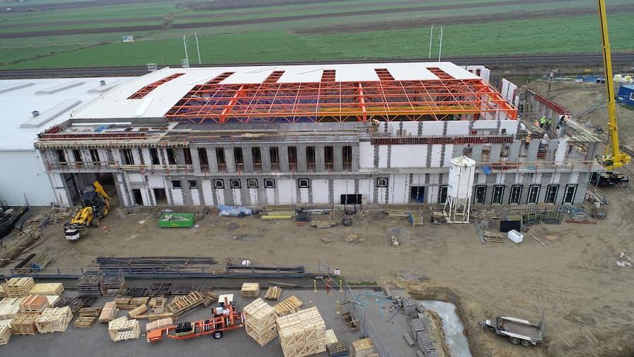 Rozbudowa hali produkcyjno-biurowej Wood-Mizer - Listopad 2020 (1)