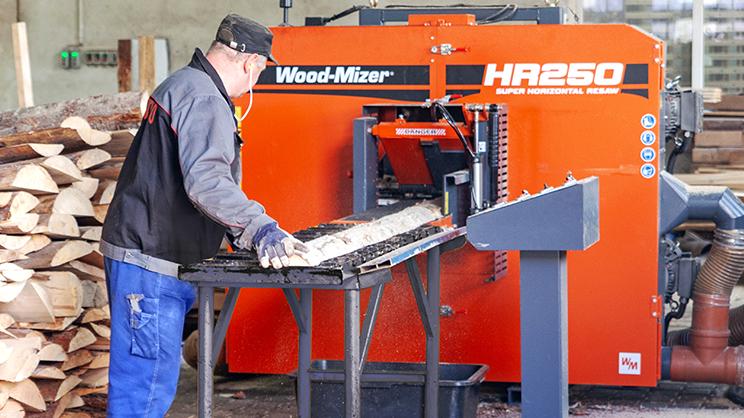 Wood-Mizer HR250 - Rozrzynarka pozioma