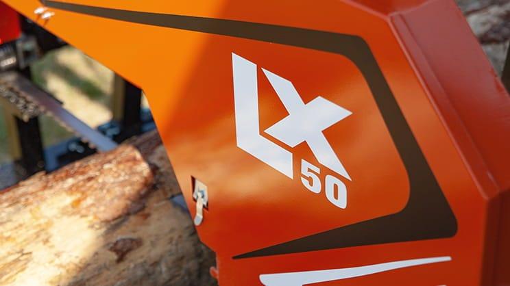 Wood-Mizer LX50 - Trak taśmowy