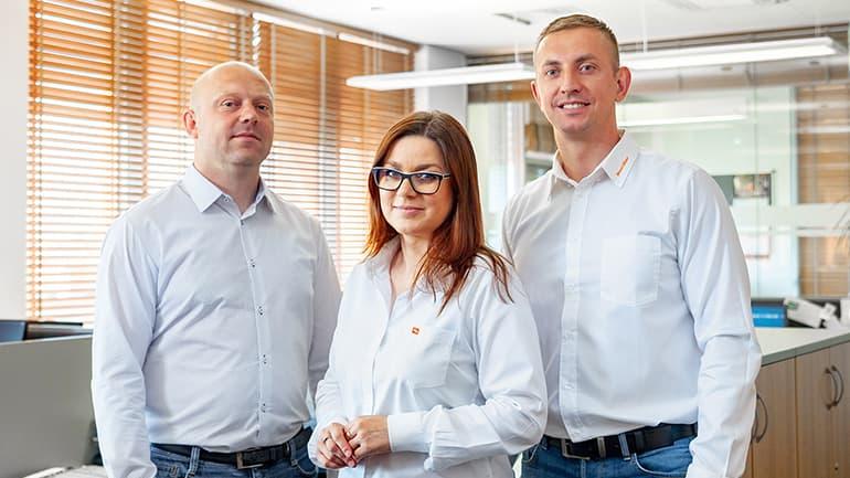 Zespół sprzedaży krajowej Wood-Mizer