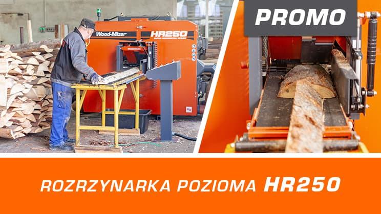 Promocja na Wood-Mizer HR250
